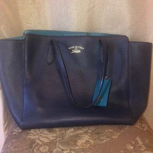Gucci Blue Tote bag